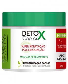 Kera Brasil Detox Capilar Máscara de Tratamento 500g - 45411