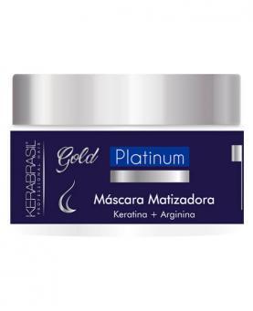 Kera Brasil Platinum Máscara Matizadora Gold 250g - 44827