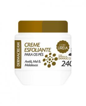 Dermacream Creme Esfoliante para os Pés com 10% de Ureia 240g - 45112
