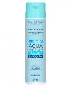 Kera Brasil Água Micelar L'Aqua Shampoo 300ml - 45237
