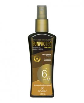Di Hellen Spray Óleo Bronzeador FPS 6 130ml - D2418