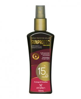 Sunprotec Spray Protetor Solar FPS 15 130ml - D2419