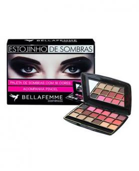 Bella Femme Estojinho de Sombras com Espelho - BF10021A