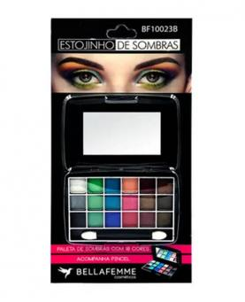 Bella Femme Estojinho de Sombras com Espelho Blister - BF10023B