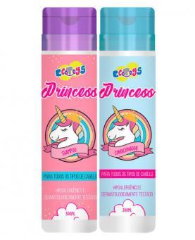 Eco Toys Kit Unicórnio Hipoalergênico Shampoo 300ml + Condicionador 300ml - 45527