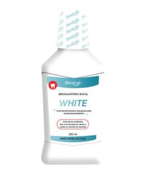 Dentrat Enxaguatório Bucal White 250ml - 45077