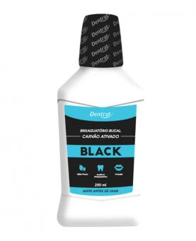 Dentrat Enxaguatório Bucal Black 250ml - 45084