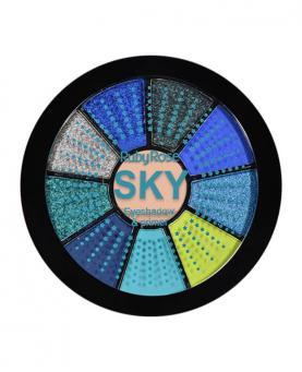 Ruby Rose Mini Paleta de Sombras Sky com Primer - HB9986-5