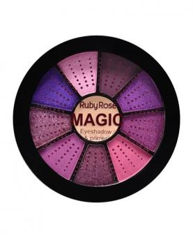 Ruby Rose Mini Paleta de Sombras Magic com Primer - HB9986-6