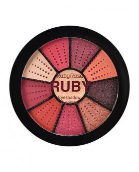 Ruby Rose Mini Paleta de Sombras Ruby com Primer - HB9986-8