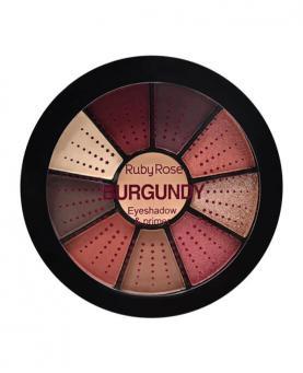 Ruby Rose Mini Paleta de Sombras Burgundy com Primer - HB9986-9