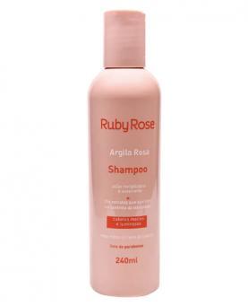 Ruby Rose Argila Rosa Linha Capilar Shampoo 240ml - HB800