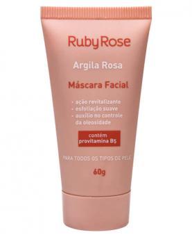 Ruby Rose Argila Rosa Linha Facial Máscara 60g - HB404
