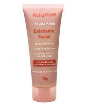 Ruby Rose Argila Rosa Linha Facial Esfoliante 75g - HB405