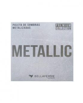 Bella Femme Paleta de Sombras Premium Collection Metalic com 12 cores - BF10068