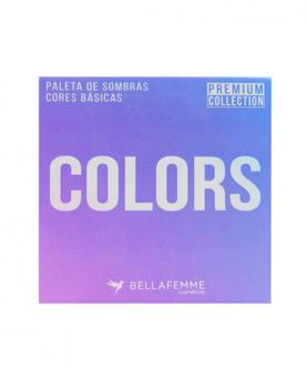 Bella Femme Paleta de Sombras Premium Collection Colors com 12 cores - BF10066