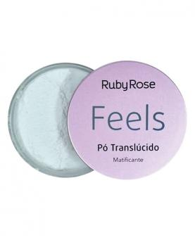 Ruby Rose Pó Translúcido Matificante Feels 8,5g - HB7224-01