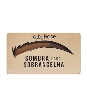 Ruby Rose Sombra para Sobrancelha Chocolate - HB9355-3