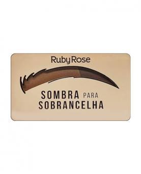 Ruby Rose Sombra para Sobrancelha Ebony - HB9355-4