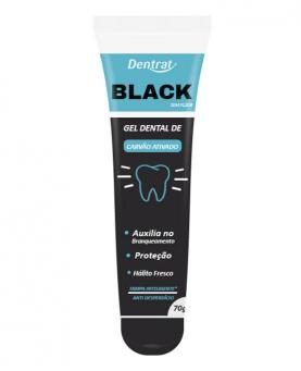 Dentrat Gel Dental de Carvão Ativado Black 70g - 45114