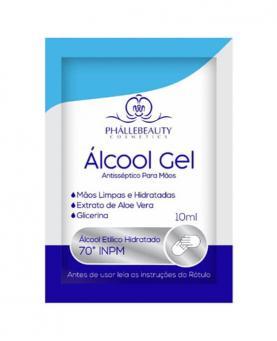 Phállebeauty Álcool Gel Antisséptico para Mãos 10ml - 27820