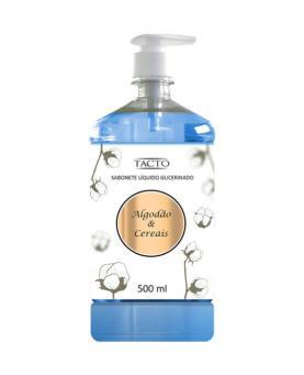 Tacto Sabonete Líquido Glicerinado Algodão & Cereais 500ml - 23046