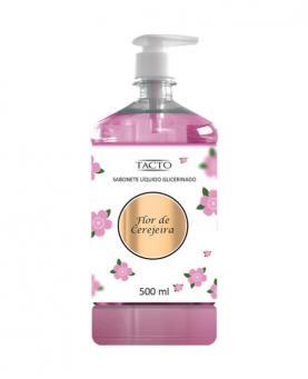 Tacto Sabonete Líquido Glicerinado Flor de Cerejeira 500ml - 0564