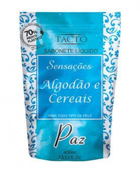 Tacto Sabonete Líquido ECOREFIL Algodão & Cereais 400ml - 30007