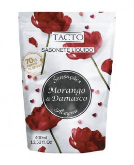 Tacto Sabonete Líquido ECOREFIL Morango & Damasco 400ml - 30001