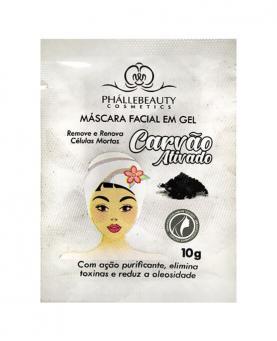 Phállebeauty Máscara Facial em Gel Carvão Ativado 10g - PH081
