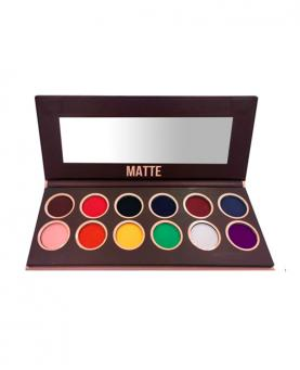 Bella Femme Paleta de Sombras Premium Collection Matte - BF10065