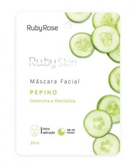 Ruby Rose Máscara Facial Pepino 25ml - HB702