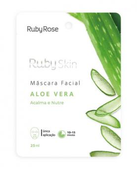 Ruby Rose Máscara Facial Aloe Vera 25ml - HB703