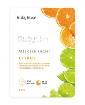 Ruby Rose Máscara Facial Citrus 25ml - HB711