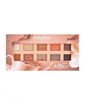 Ruby Rose Paleta de Sombra Latte - HB1051