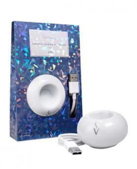 Via Aroma Aromatizador Elétrico de Porcelana USB - 65961