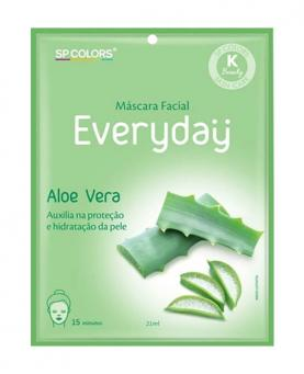 Sp Colors Máscara Facial Aloe Vera 21ml - EV006