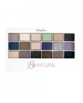 Ruby Rose Paleta de Sombra Be Natural - HB9930