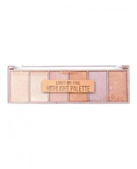 Ruby Rose Iluminador Highlight Palette Light My Fire - HB7512