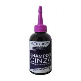 Nutryderm Shampoo Cinza Desamarelador 60ml - 59096