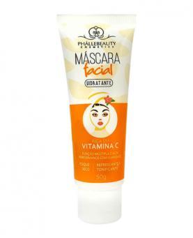 Phállebeauty Máscara Facial Hidratante Rica em Vitamina C 50g - PH0052