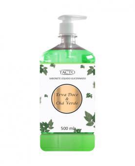 Tacto Sabonete Líquido Glicerinado Erva Doce & Chá Verde 500ml - 23044