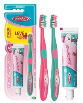 Condor Escova + Gel dental Lilica Jr - 98163