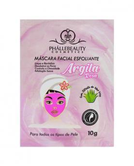 Phállebeauty Máscara Facial Argila Rosa 10g - PH0053