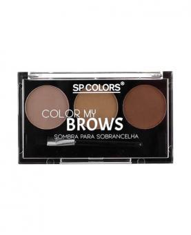 Sp Colors Kit Sombra para Sobrancelha Color My Brows - SP005
