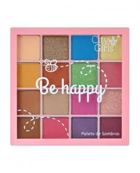 City Girls Paleta de Sombra Be Happy - CG184-A