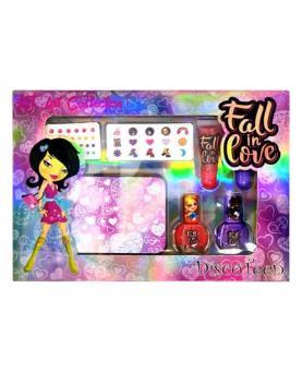 Discoteen Kit para unhas Art Collection Fall in Love - 96759