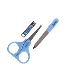 Petita Kit Manicure Infantil Azul com 03 Itens - 1110-AZ
