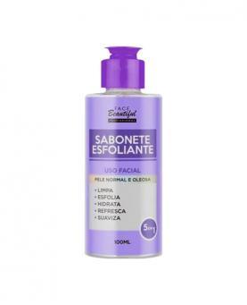 Face Beautiful Sabonete Facial Esfoliante 5 em 1 100ml - 82640