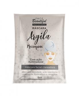 Face Beautiful Máscara Argila Marroquina Iluminadora 10ml - 82567